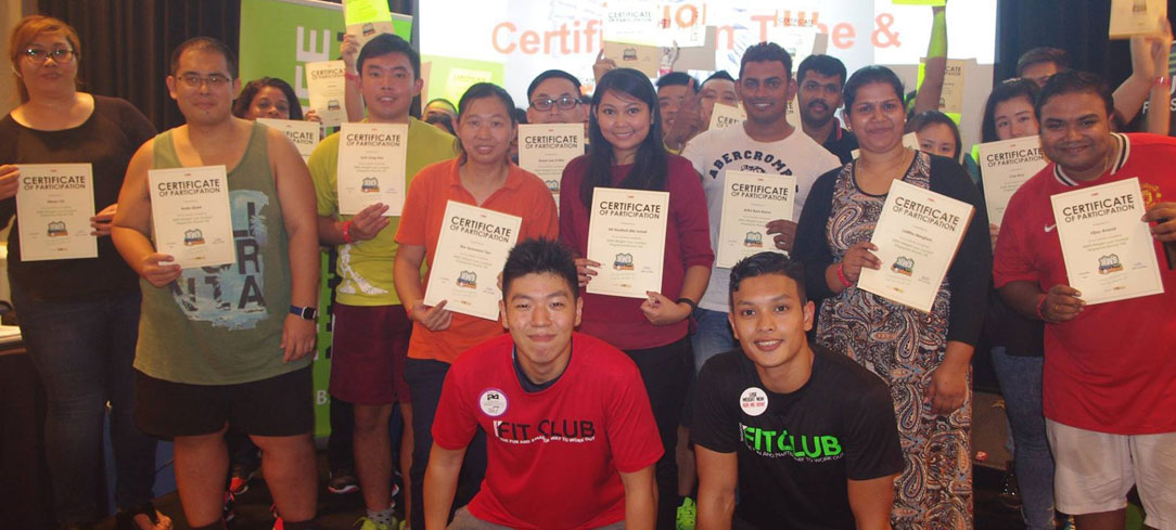 weight loss contest singapore